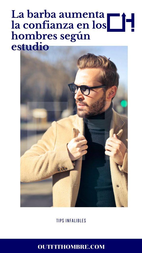 la barba aumenta la confianza en los hombres