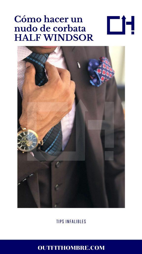 Hoy, aprenderemos cómo atar el nudo Half Windsor y hacerlo parte de tu estilo. Como hacer un nudo de corbata en 30 segundos paso a paso